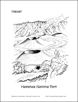Learn About Hawaii With These Free Printables Hawaii Theme Hawaii National Parks Hawaii