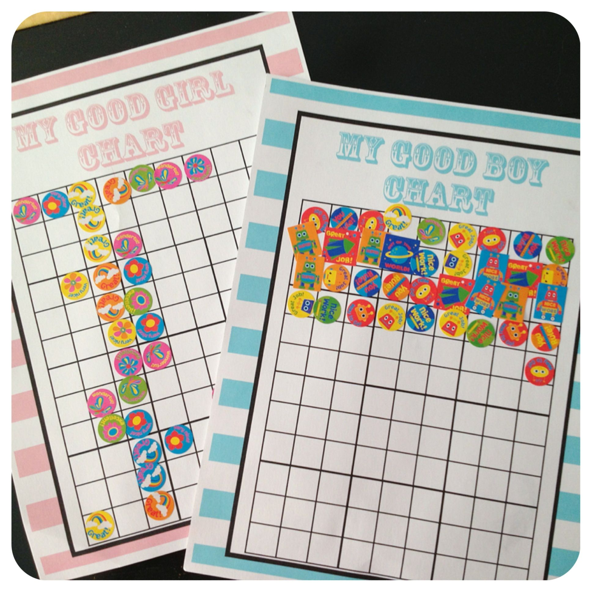 Toddler Incentive Charts Free Printables | Sticker chart ...