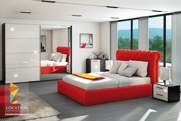 كتالوج غرف نوم مودرن كاملة بالدولاب 2018 2019 لوكشين ديزين نت Furniture Home Decor Home