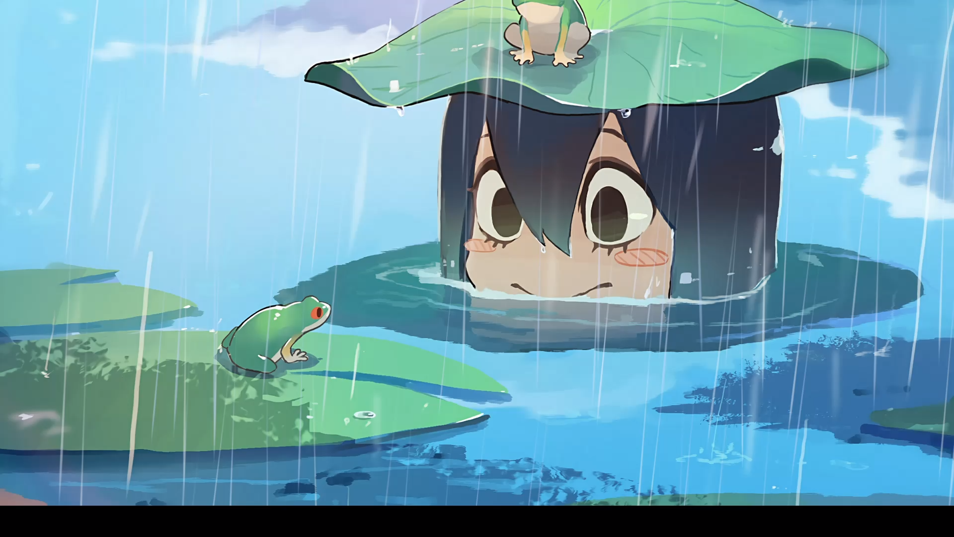 Froppy (My Hero Academia / Boku no Hero Academia) Anime Wallpaper
