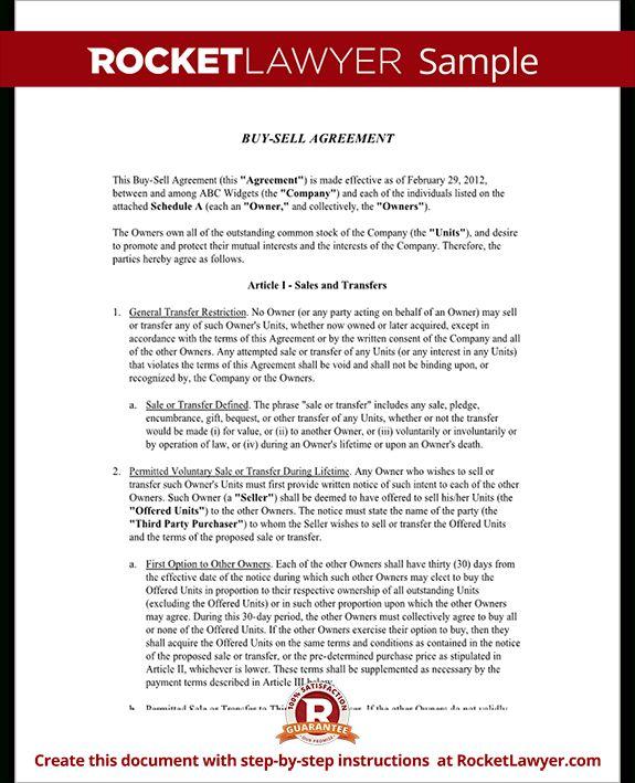 Buy Sell Agreement Template -   wwwvalery-novoselskyorg/buy