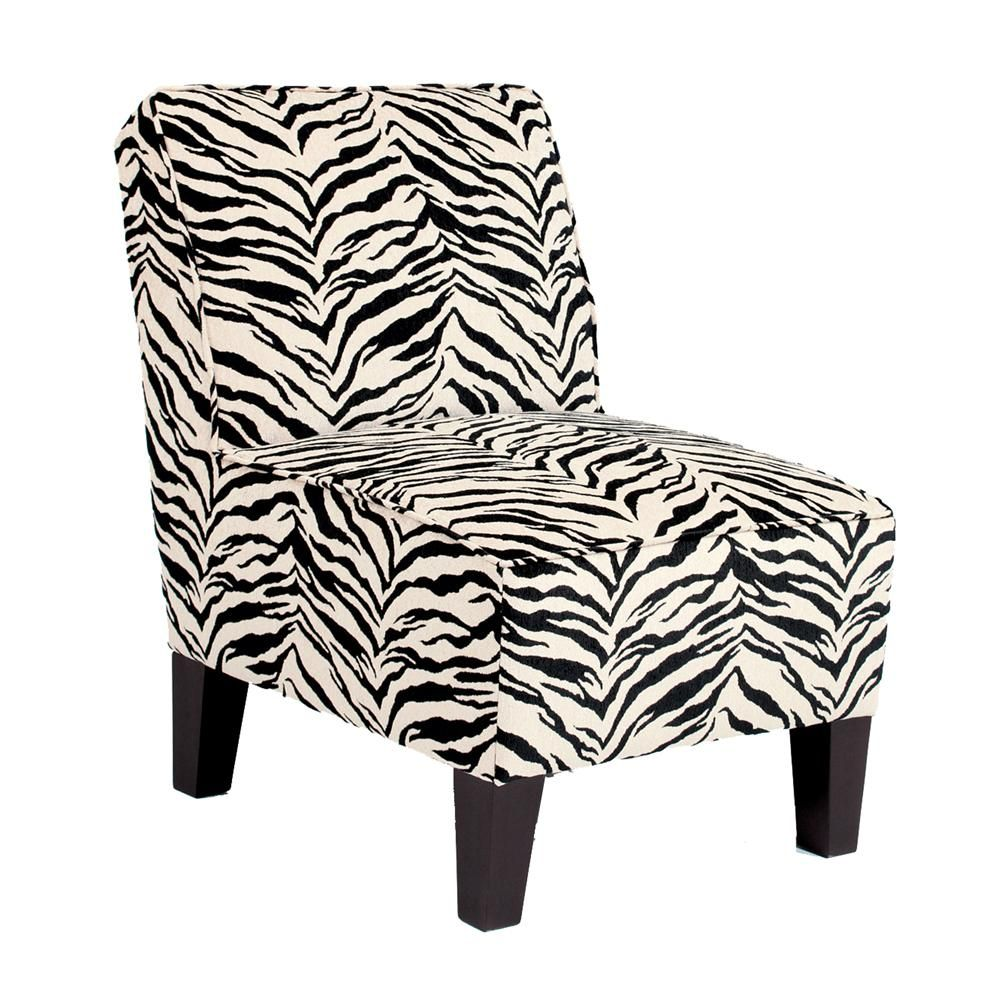 Chairs accent keara exposed wood armless accent chair by