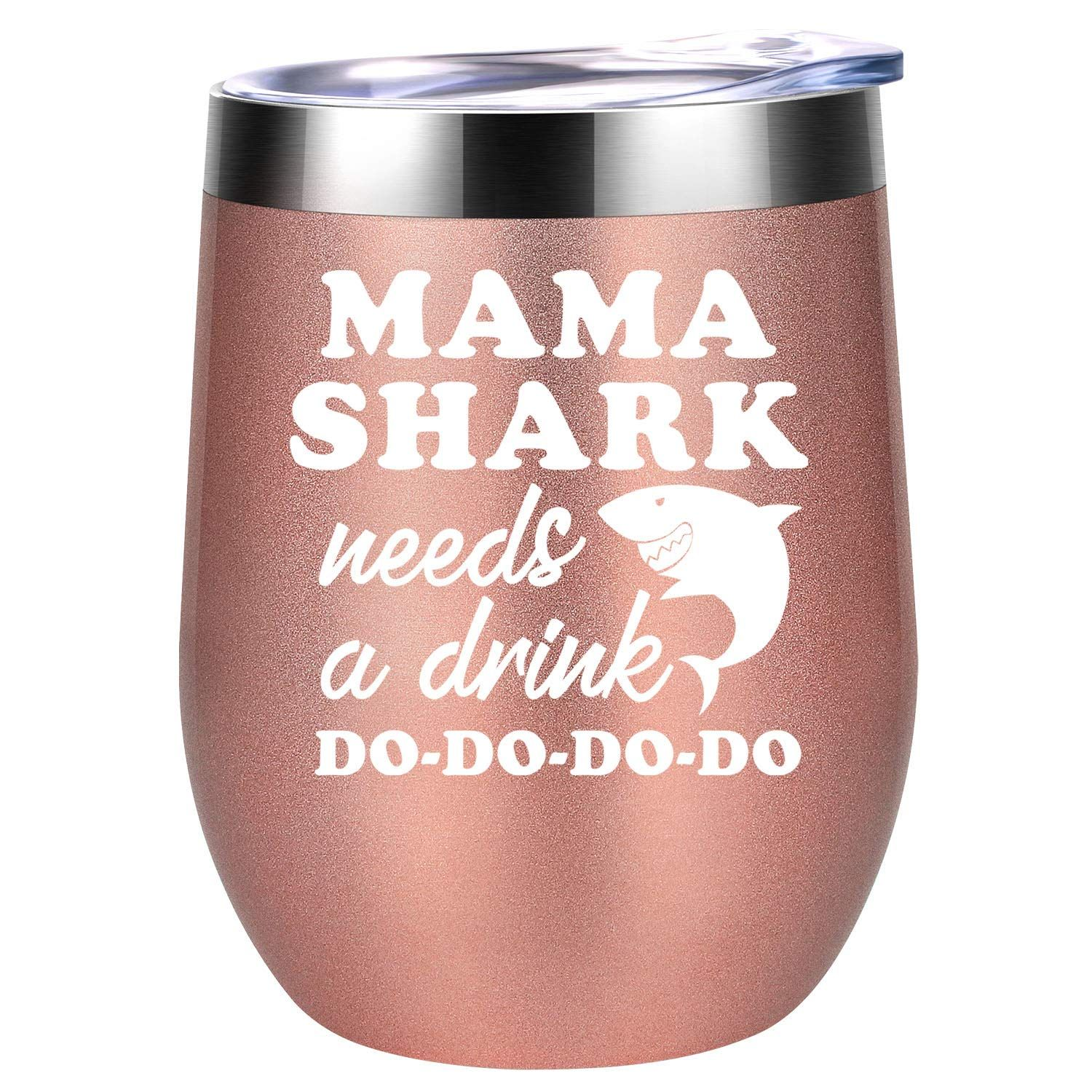 Mama Shark Needs a Drink Do Do Mommy Shark Gifts for Mom