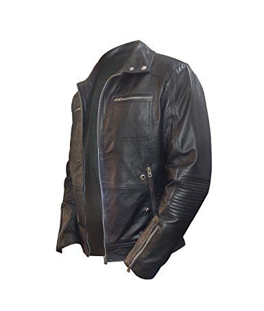 Enrique Iglesias Heart Attack Song Leather Jacket L Black Leather