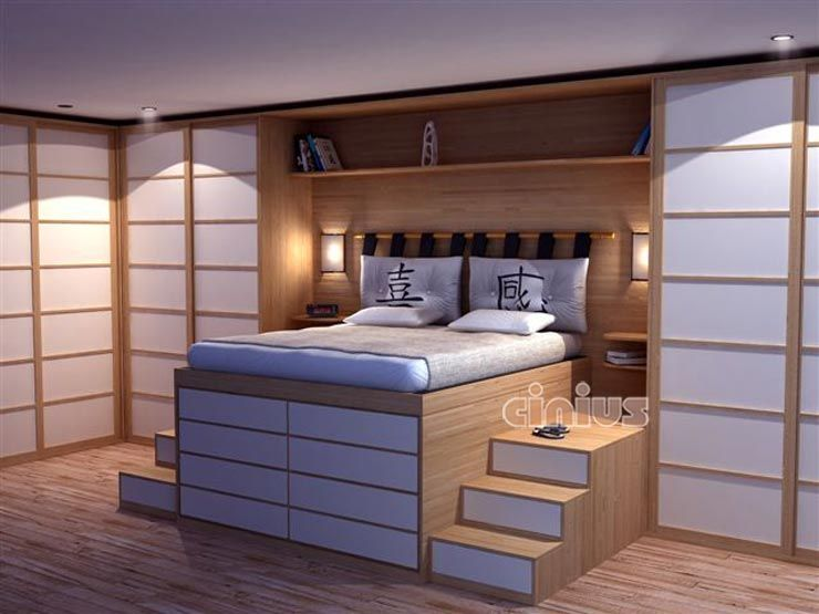 lit estrade chambre ana pinterest lits chambres et chambres de luxe. Black Bedroom Furniture Sets. Home Design Ideas