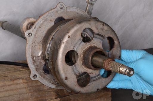Suzuki LT80 Rear Brake Drum Removal | Suzuki LT-80 | Repair