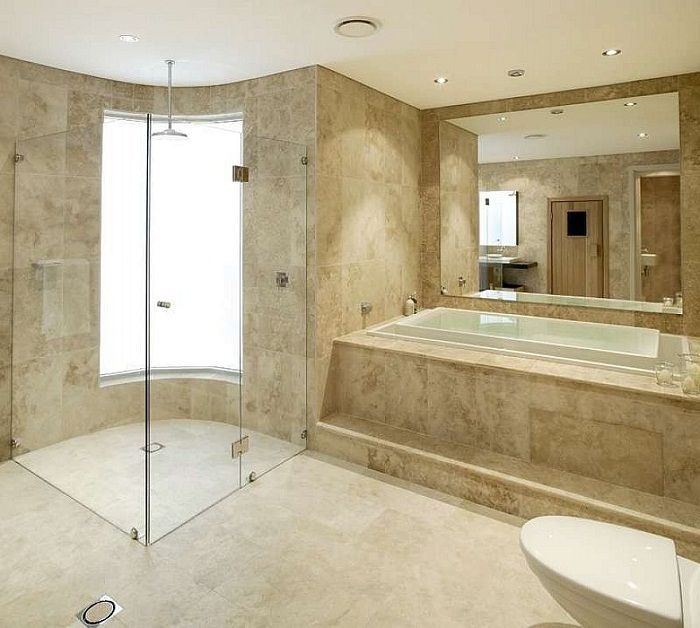 Modern Luxury Bathroom Tile Design Ideas Bathroom Pinterest - Current bathroom tile trends