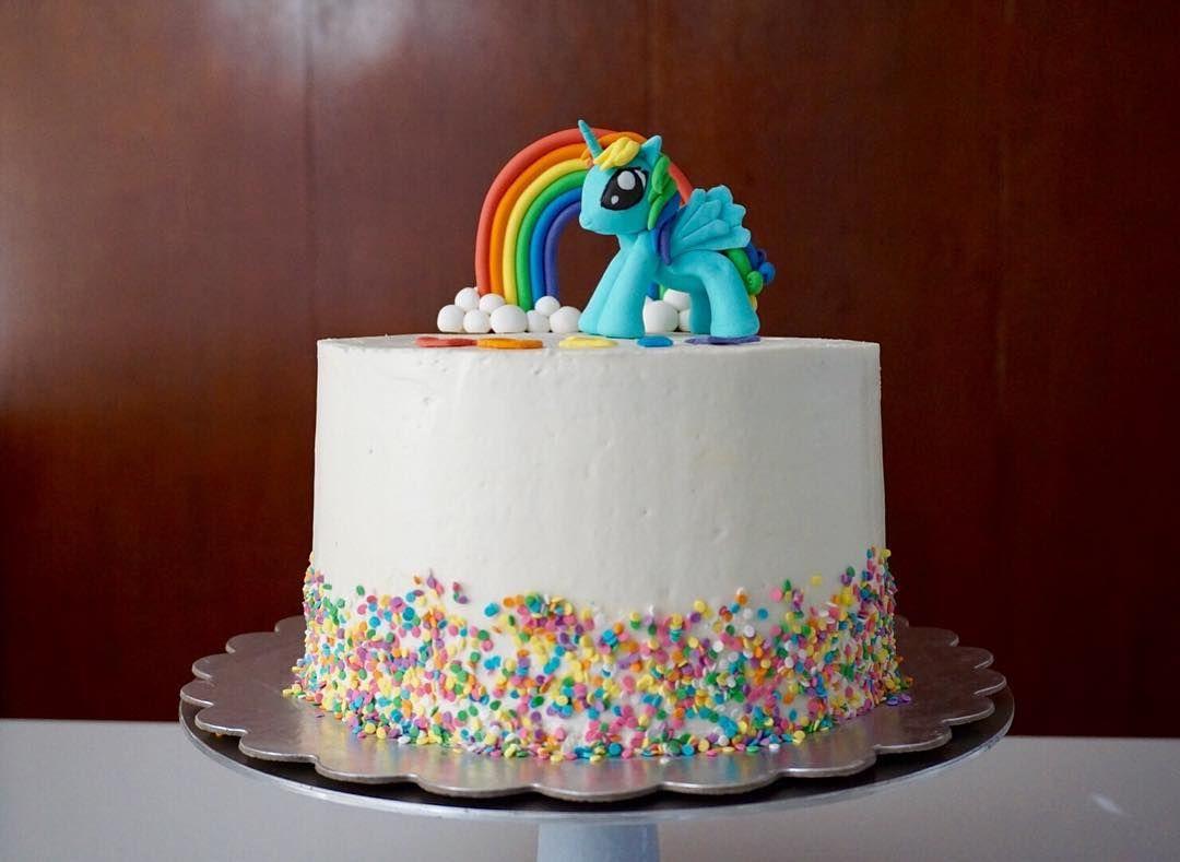 Rainbow Dash Cake Design : Rainbow Dash is off to her party today! Dark chocolate ...