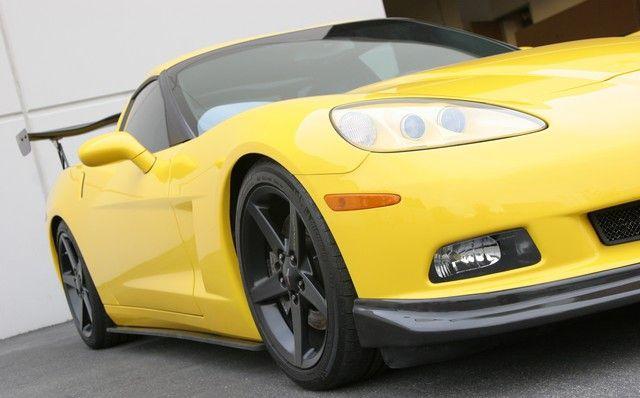 C6 Corvette Carbon Fiber Front Splitter Apr Corvette Carbon Fiber Carbon