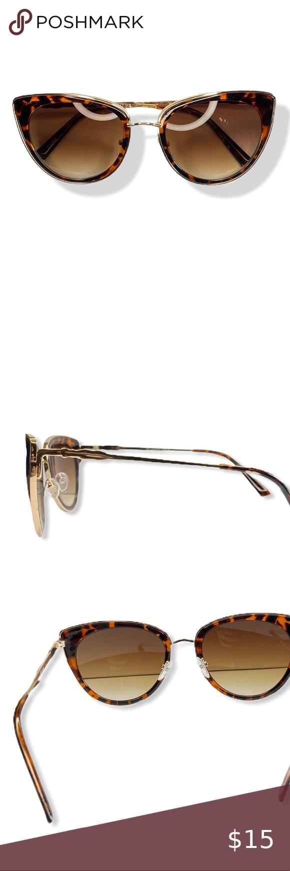 Cat Eye Tortoise Shell Sunglasses in 2020 Tortoise shell
