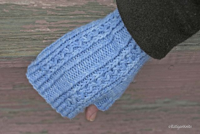 Aegean Mitts by Amy Polcyn. RatiganKnits © Flickr - Photo Sharing!