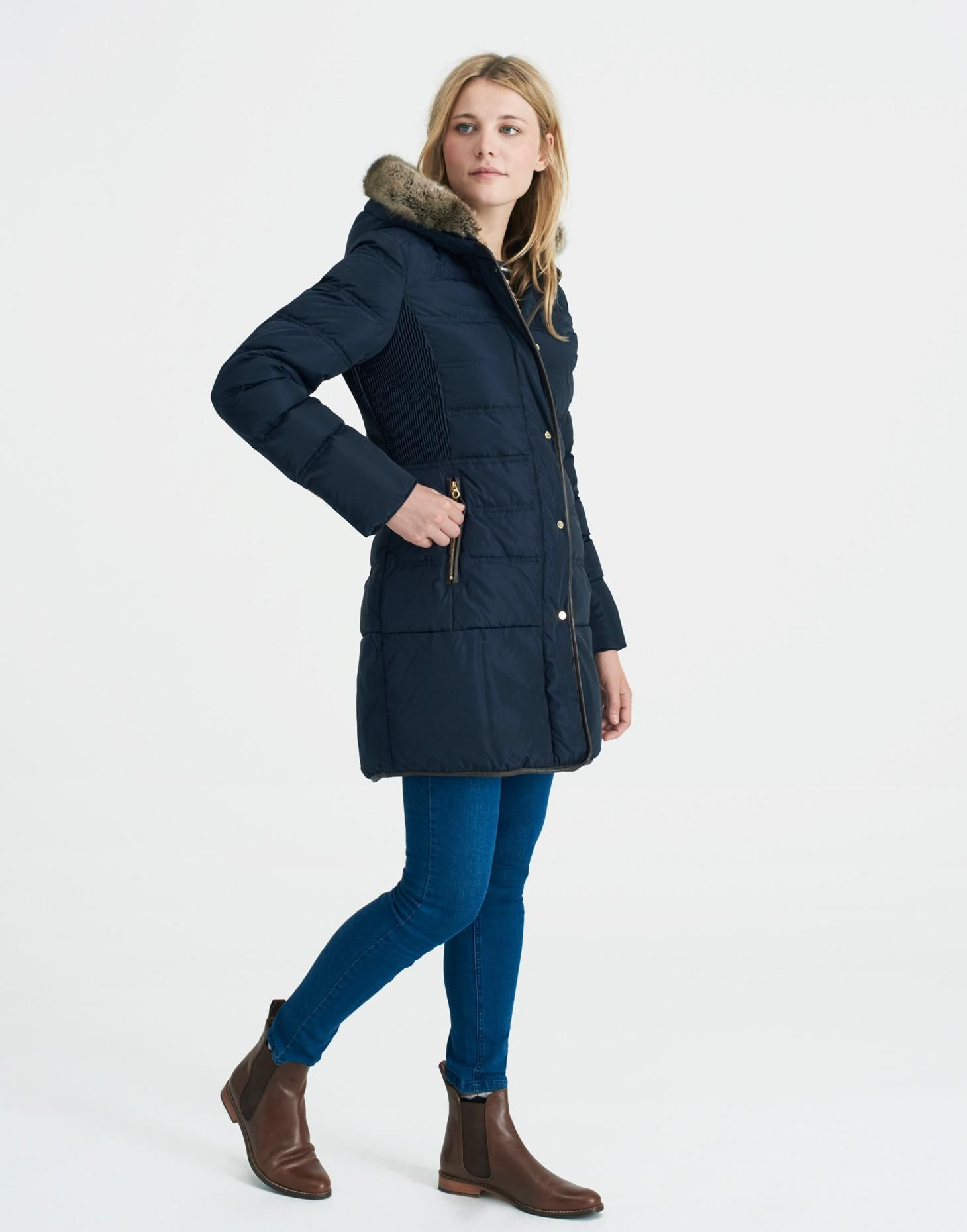 Blisworth Marine Navy Padded Jacket | Joules US | Clothes ... : joules ladies quilted jackets - Adamdwight.com