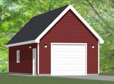 16x36 Shed