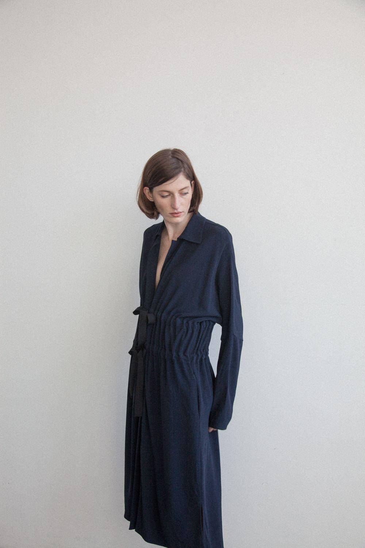Zero + Maria Cornejo   Spring/Summer 2017   Long-Sleeved Nola Dress