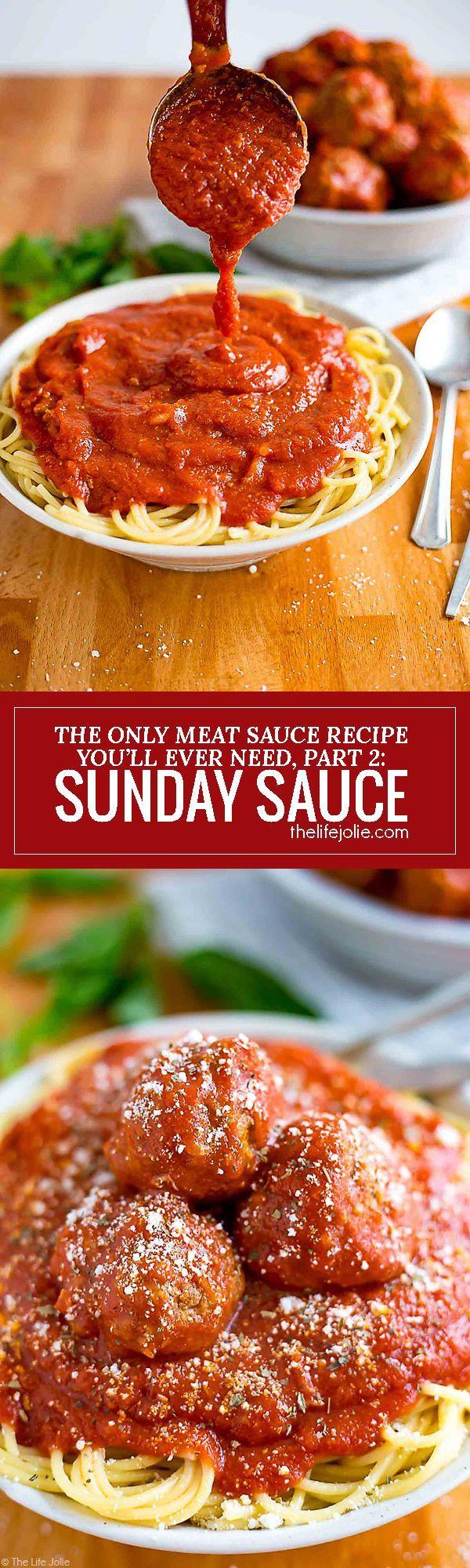Sunday Sauce Recipe Dips, Sauces + DIY Condiments