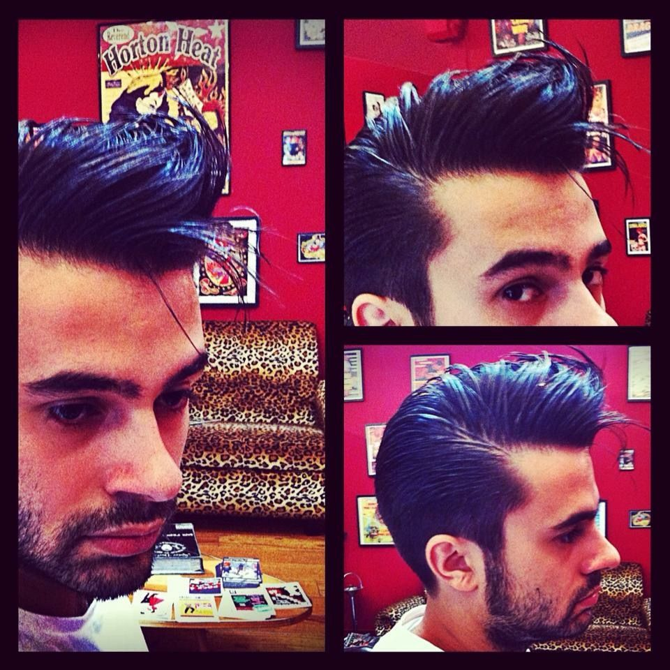 Haircuts for men las vegas pin by justgiveitup on pompadours  pinterest
