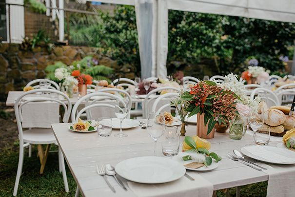 HEATHER + CAL // #backyardwedding #wedding