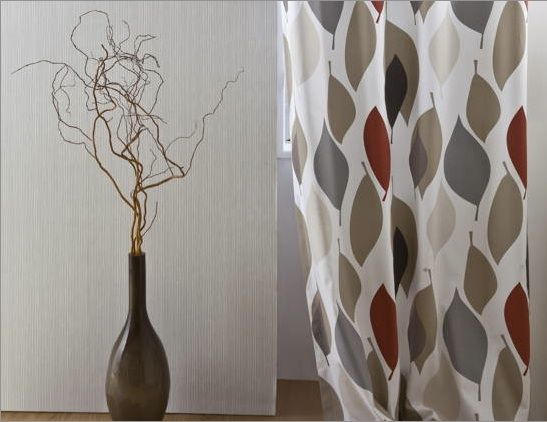 exemple deco tentures rideaux photo