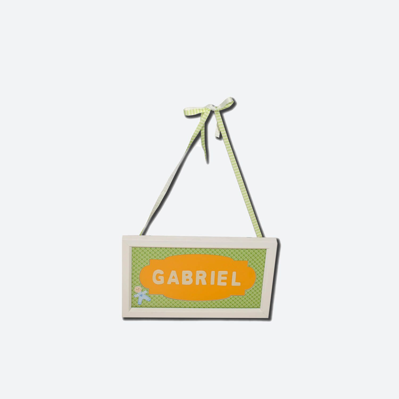 Child's Name Frame | Oficina d'Artesã
