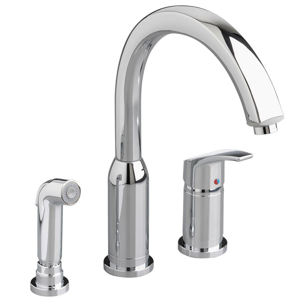American Standard Arch Single-Handle Standard Kitchen Faucet with ...