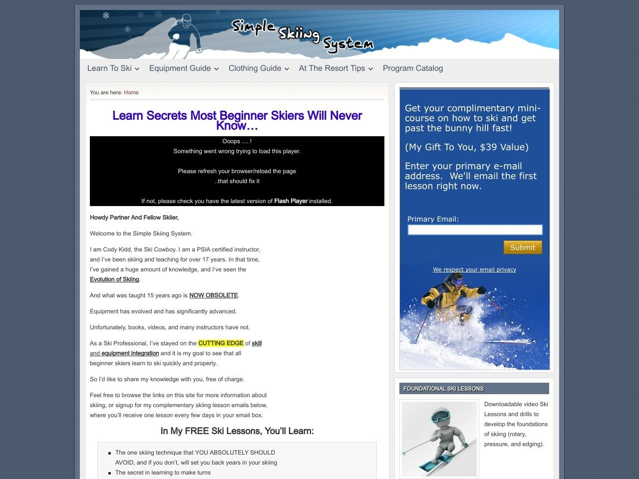 ① Simpleskiingsystem - http://www.vnulab.be/lab-review/%e2%91%a0-simpleskiingsystem