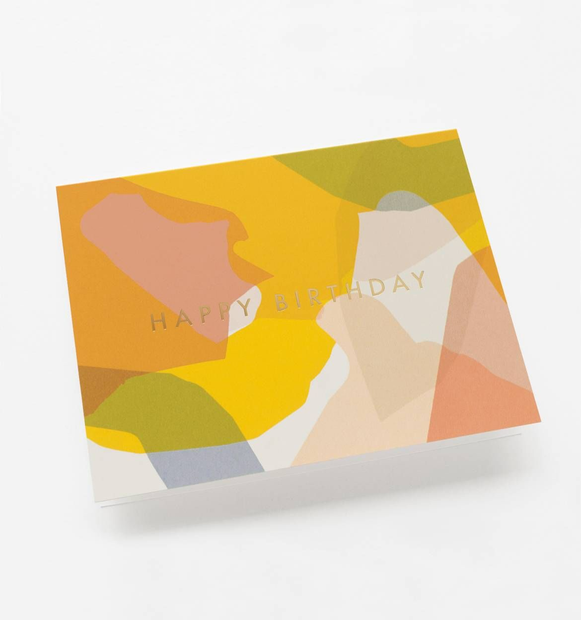 Modern Birthday Available as a Single Folded Card or Boxed Set of 8