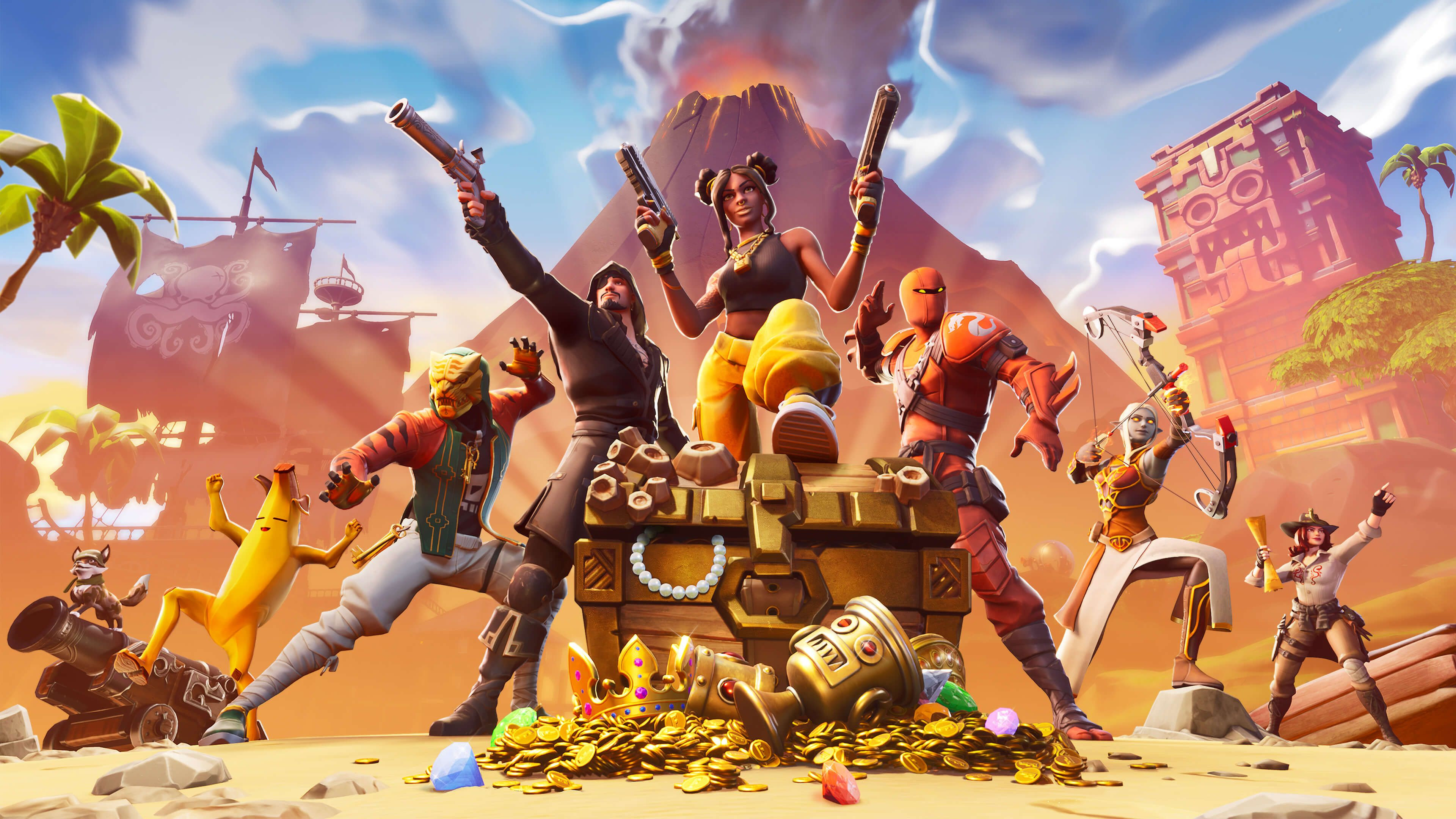 Fortnite Battle Royale Is The Free 100 Player Pvp Mode In Fortnite
