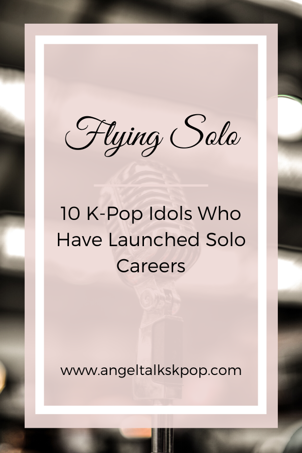 10 K Pop Idols Who Have Launched Solo Careers In 2020 Kpop Idol Kpop Pop