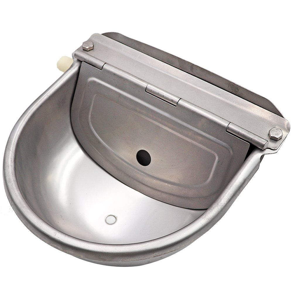 Stainless Steel Waterer Bowl With Scupper For Horse Dog Cattle Goat Sheep Pig Float Valve By Livestocktool Ad Scupper Horse Sheep Pig Small Pets Cattle