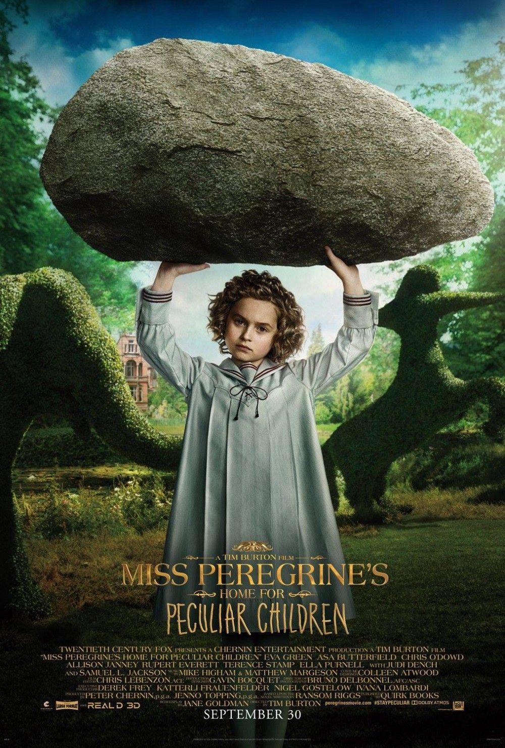 Miss Peregrine S Home For Peculiar Children Character Posters