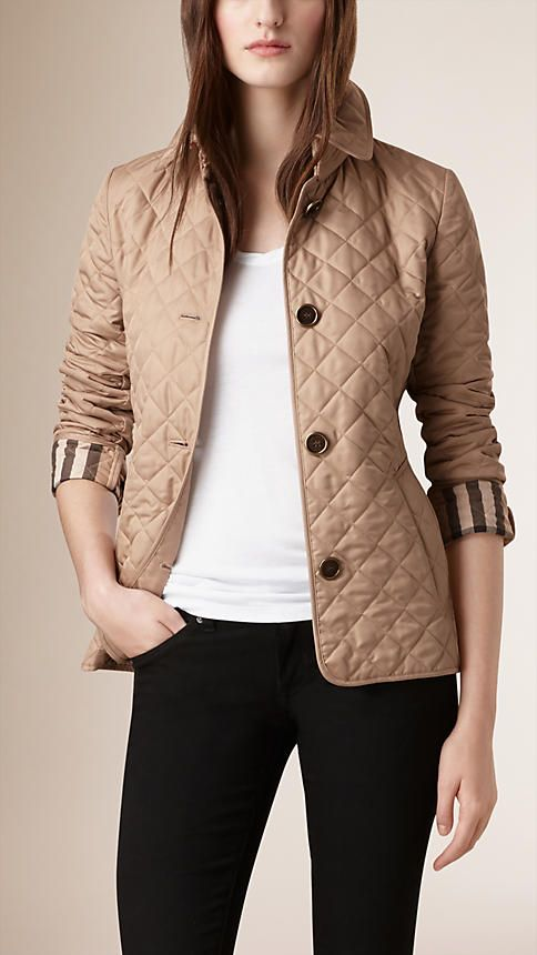 Burberry New Chino Diamond Quilted Jacket A Lightweight Diamond
