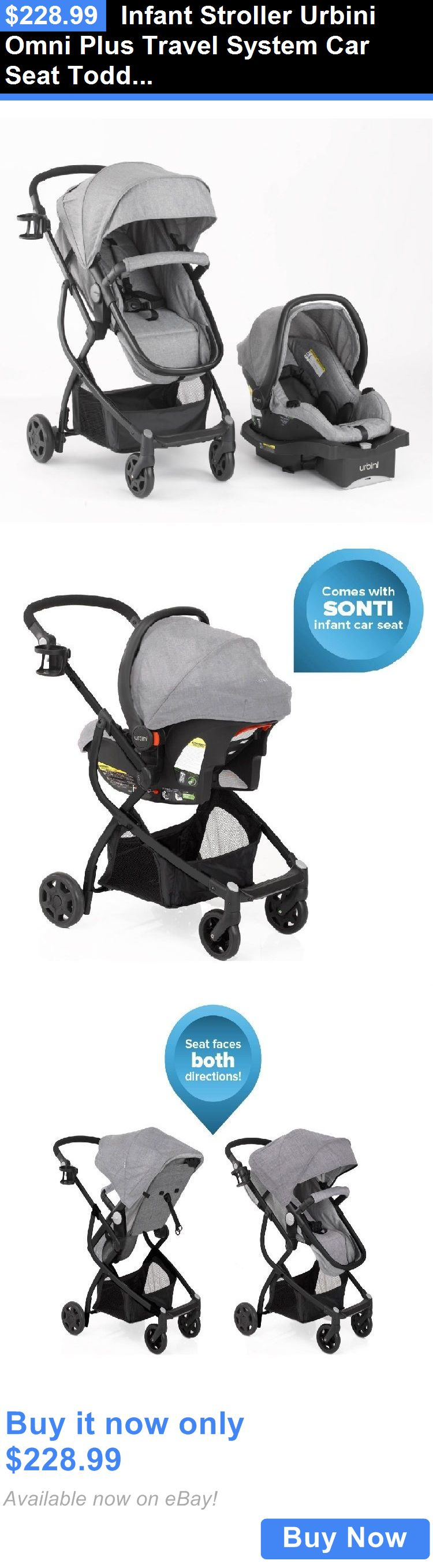 Baby And Kid Stuff Infant Stroller Urbini Omni Plus Travel System Car Seat Toddler Special Edition BUY IT NOW ONLY 22899
