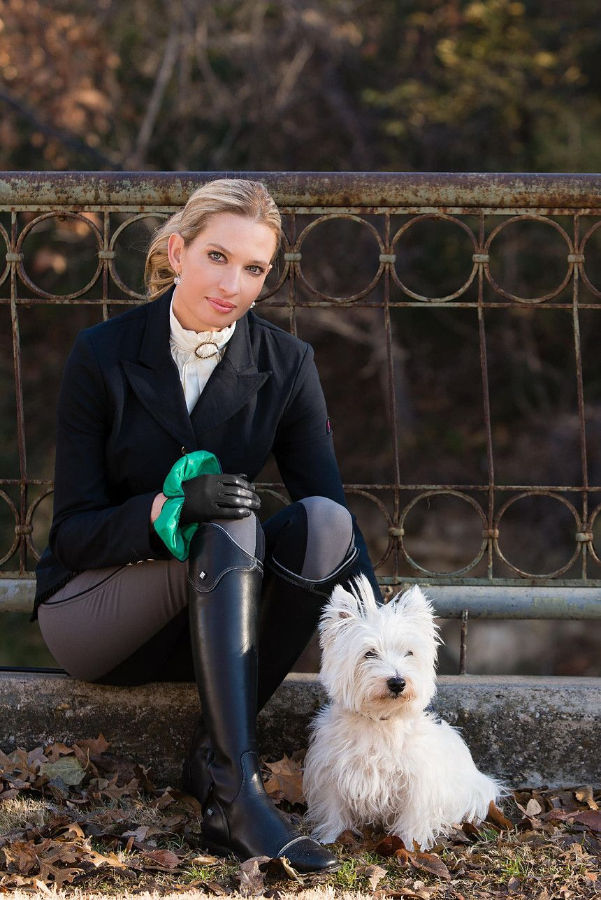 Pin By Robert Zboina On Westie Dogs For My Daughter Equestrian Outfits Riding Outfit Equestrian Style