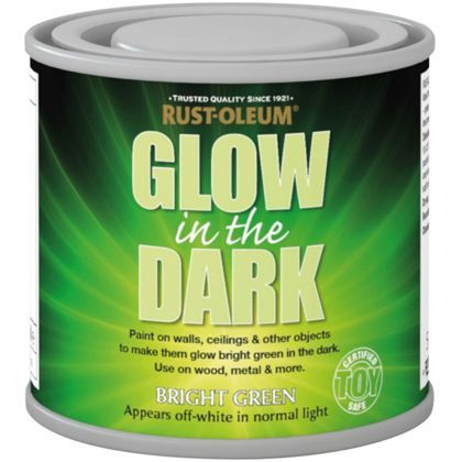 Glow In The Dark Wood rust-oleum glow in the dark paint - 125ml   rust, gardens and backyard