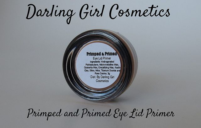 Darling Girl Primped and Primed Eyelid Primer: Review. Click thru to read more!