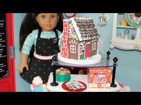 DIY American Girl Doll Gingerbread House - YouTube #americangirldollcrafts DIY American Girl Doll Gingerbread House - YouTube #americangirlhouse DIY American Girl Doll Gingerbread House - YouTube #americangirldollcrafts DIY American Girl Doll Gingerbread House - YouTube #americangirlhouse