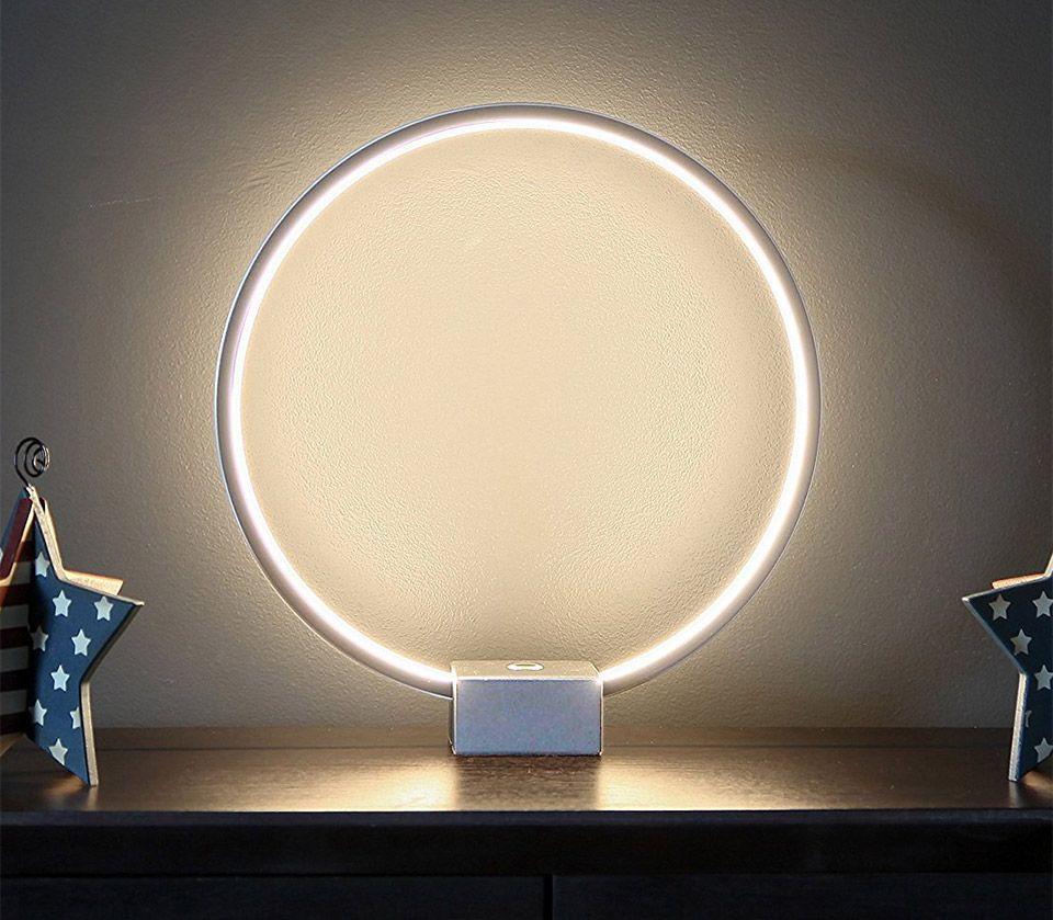 Circle Led Table Lamp Led Diy Aros