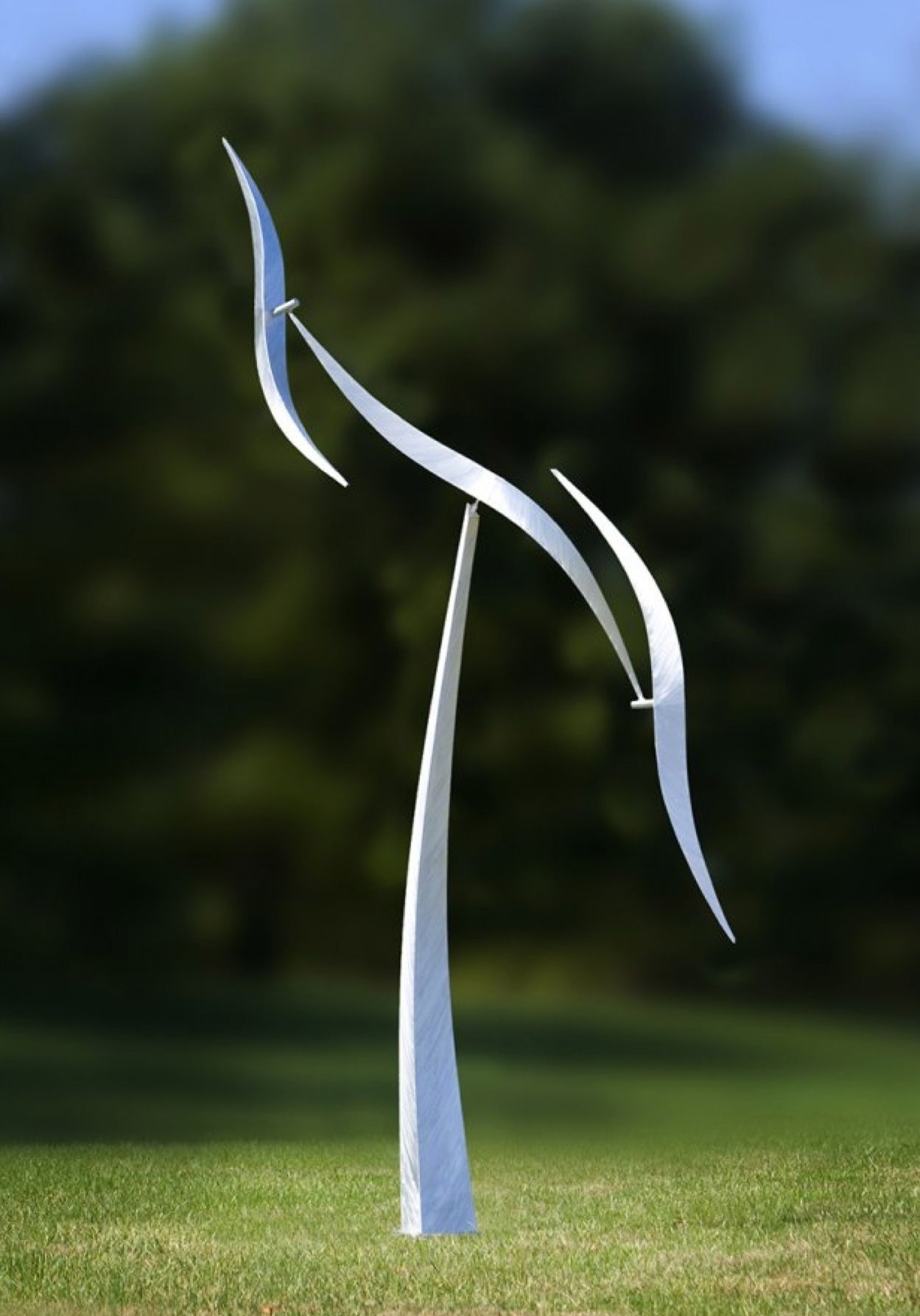 Kinetic moving wind sculptures