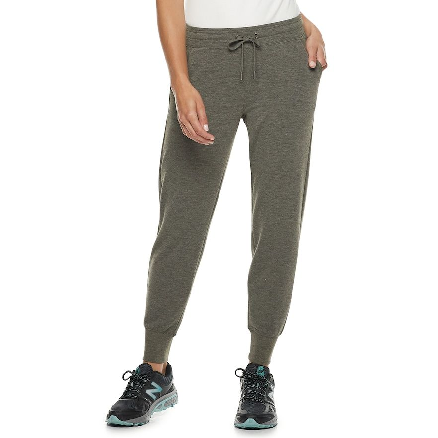 various kinds of brand new super popular Petite Tek Gear French Terry Jogger Sweatpants, Women's ...