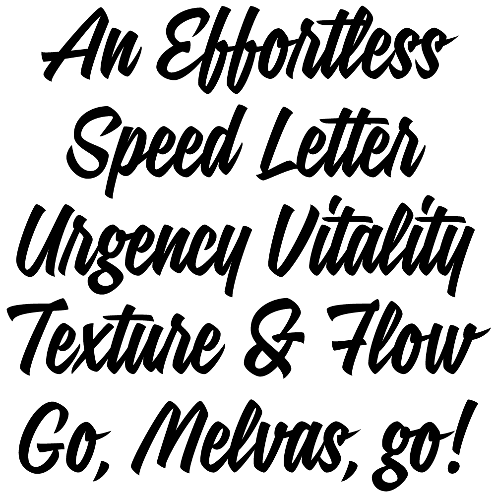 Signalist brush lettering font fonts