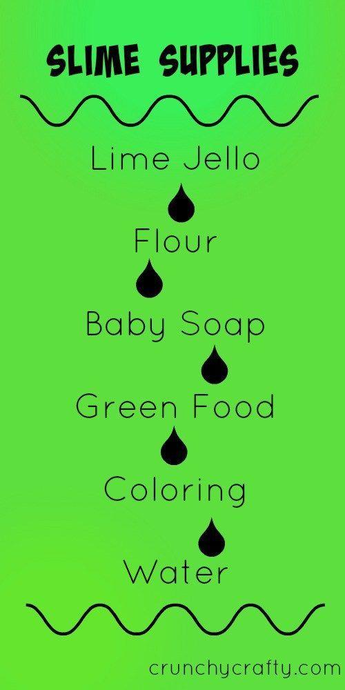 Diy Nickelodeon Slime Supplies How To Make Slime Easy Diy Slime
