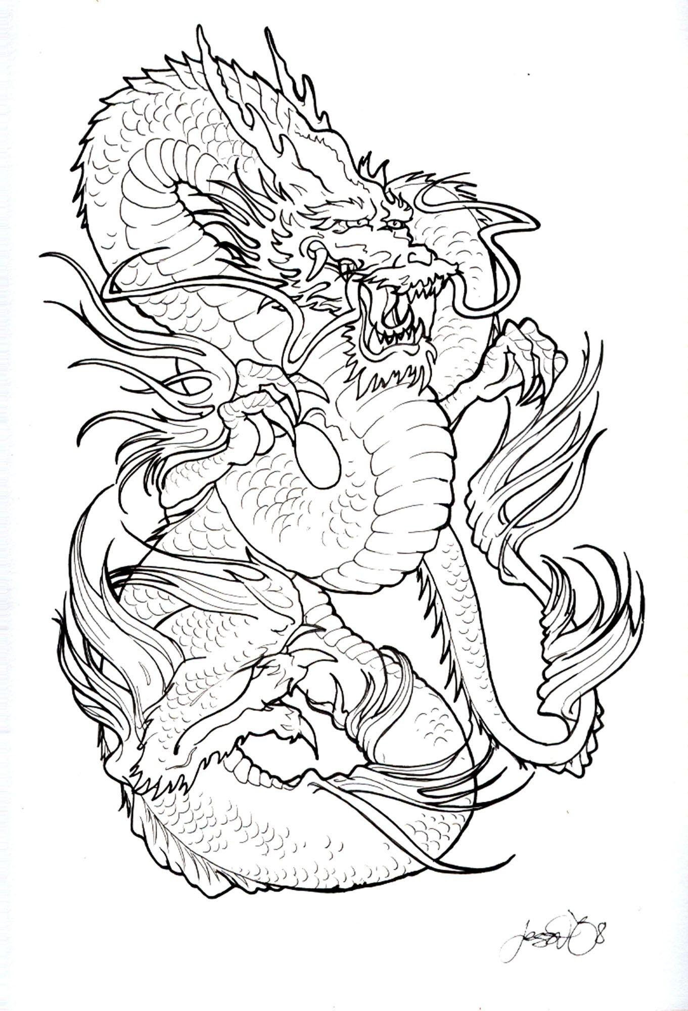 Dragon Tattoo Design Tattoos Pinterest Drachen