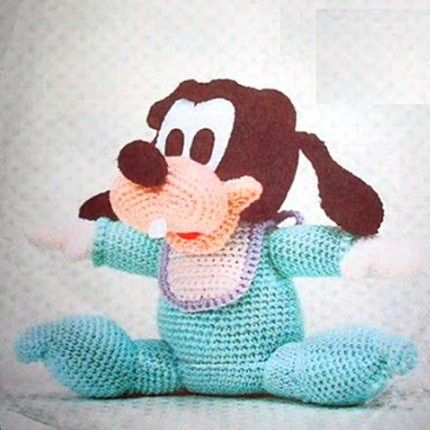 Amigurumi Baby Goofy Goofy Pinterest Crochet Girls Amigurumi