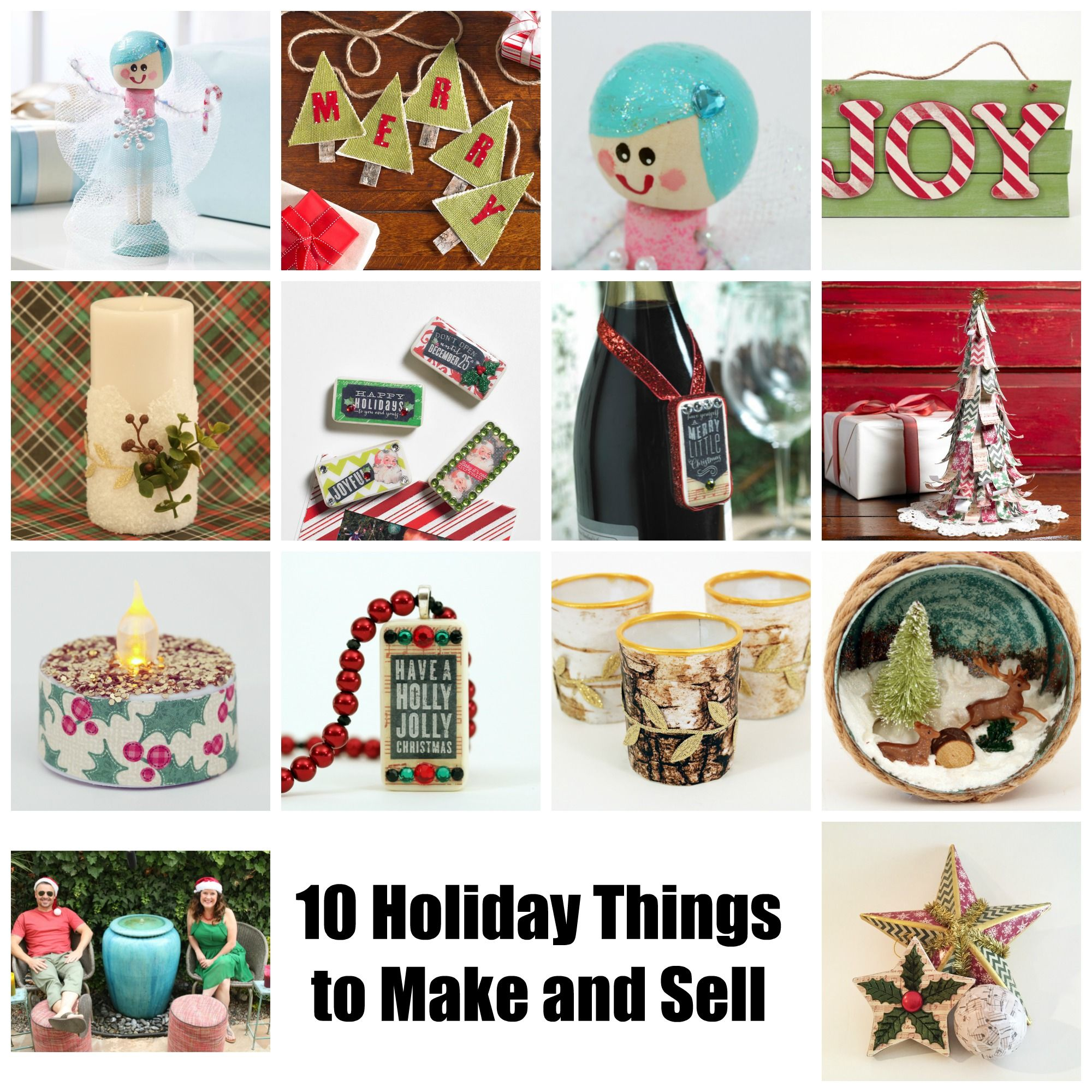 24+ Christmas crafts to make and sell ideas
