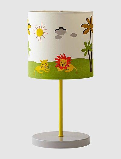Imprime Thème Blanc Lampe Party Enfant Jungle De Chevet Vertbaudet hxBosdQrtC