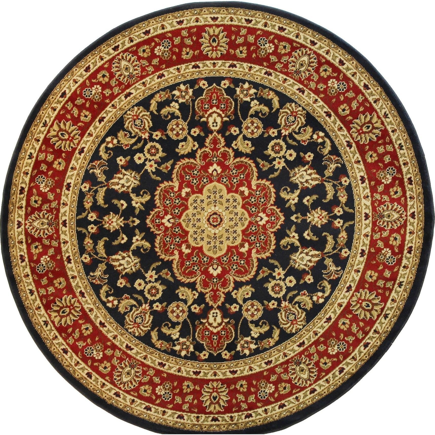 Well Woven Medallion Traditional Kashan Formal Medallion