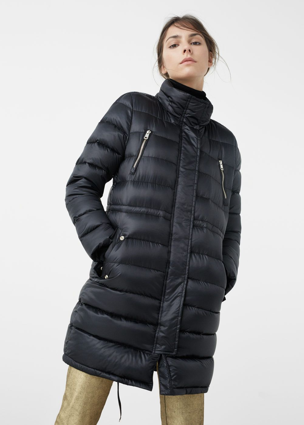 Anorak impermeable plumón - Mujer  64c3d96e142f