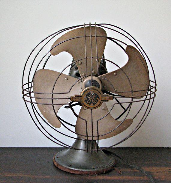 Antique Fans, Desk Fan, Vintage Fans