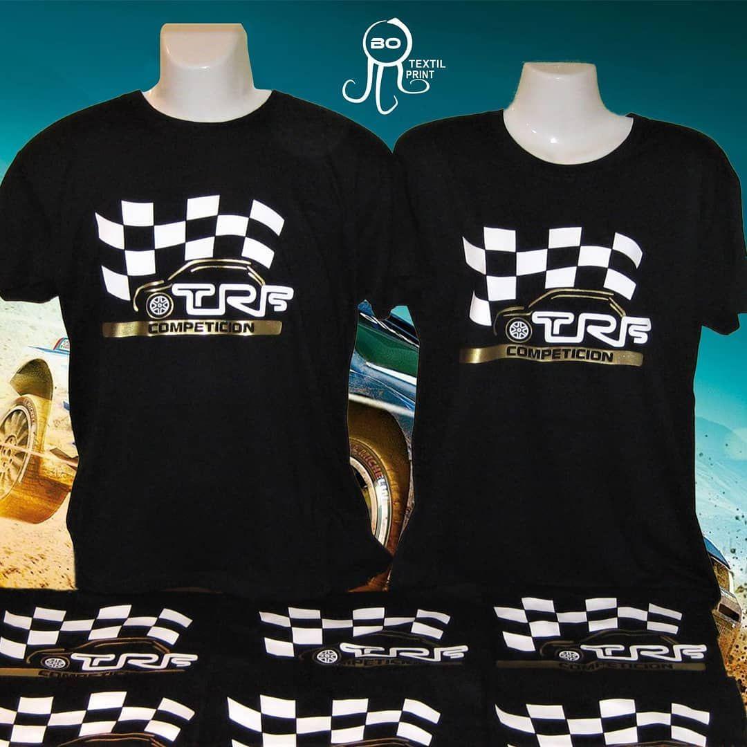 Camisetas equipo de Rally. www.botextilprint.es  botextilprint  serigrafia   bordado 14a02e3bf2172