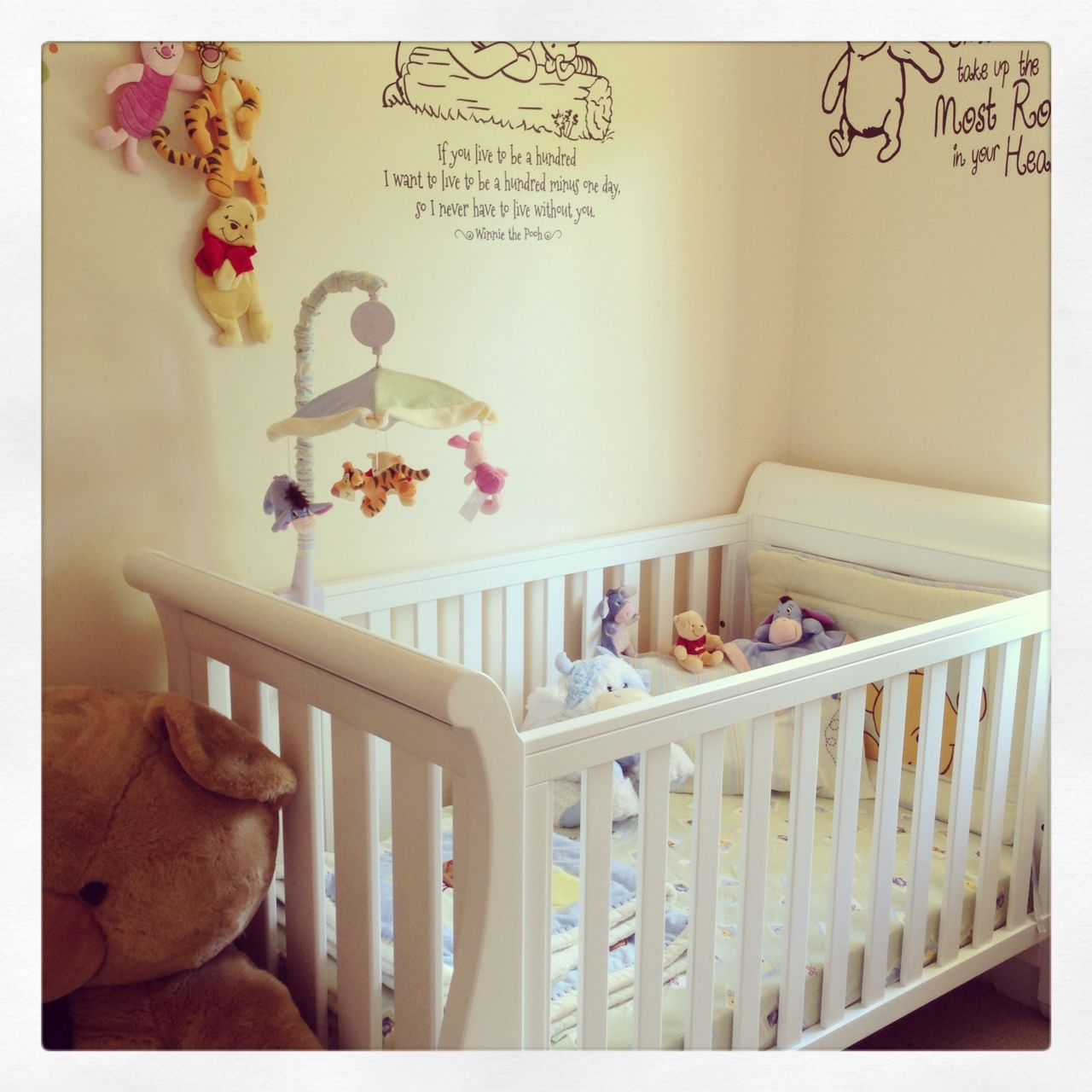 Our Winnie The Pooh Nursery Wall Color For Our Nursery Winnie The Pooh Nursery Unisex Baby Room Baby Room Inspiration